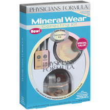 Mineral Wear Talc-Free Mineral 3 Piece Correcting Kit Special Value Medium