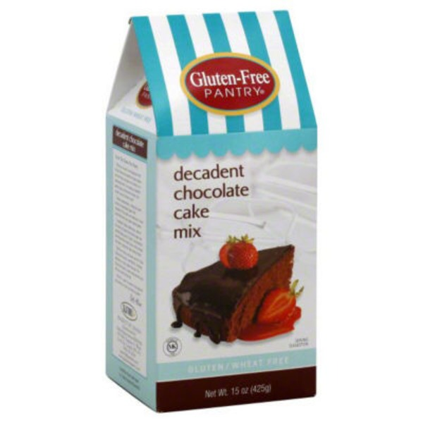 Glutino Gluten Free Pantry Decadent Chocolate Cake Mix