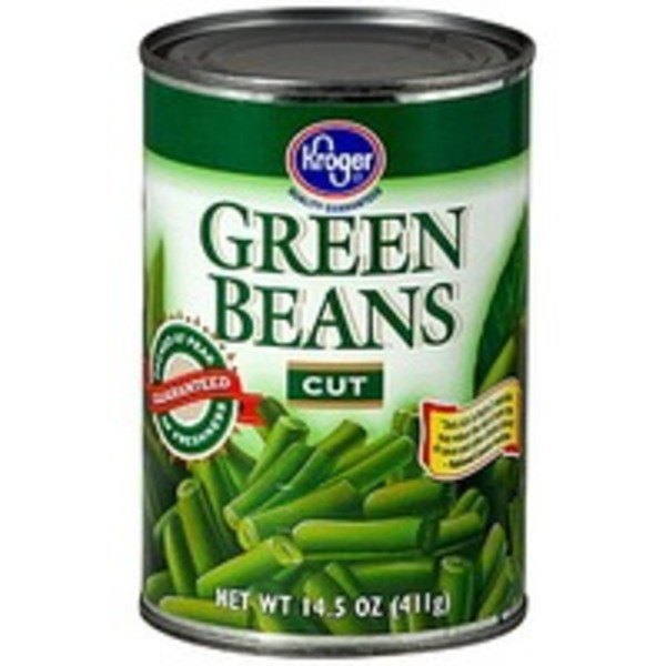 Kroger Cut Green Beans
