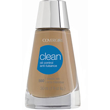 CoverGirl Clean Oil Control Foundation Classic Tan 560