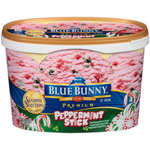 Blue Bunny Peppermint Stick Ice Cream