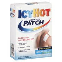 Icy Hot Medicated Patch Extra Strength Arm, Neck & Leg and Small Areas - 5 CT