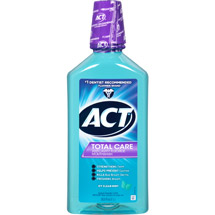 Act Total Care Icy Clean Mint Anticavity Fluoride Mouthwash