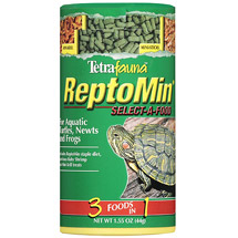 Tetra Reptomin 3 In 1 Food For Aquatic Reptitles Newts and Frogs