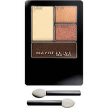 Maybelline Expert Wear Eyeshadow Quads Sunlit Bronze