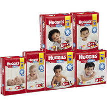 Huggies Snug & Dry Ultra Diapers Jumbo Pack Size 6