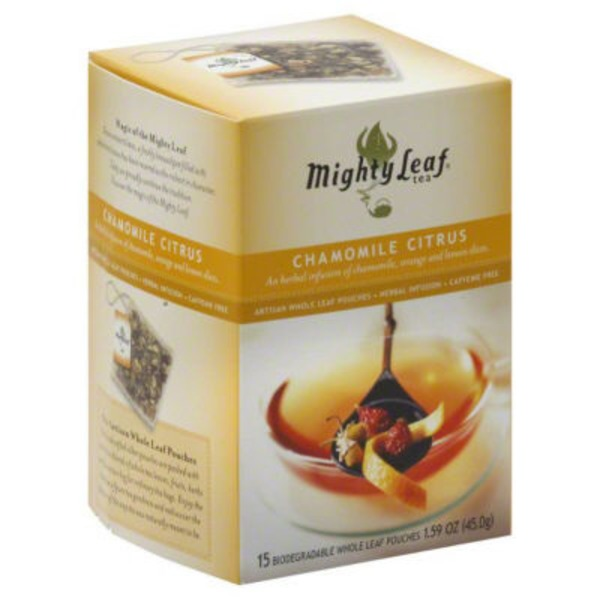Mighty Leaf Chamomile Citrus Herbal Tea