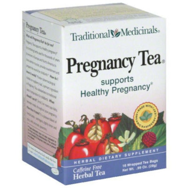 Traditional Medicinals Pregnancy Tea
