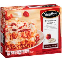 Stouffer's Satisfying Servings Five Cheese Lasagna