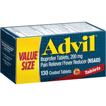 Advil Ibuprofen Pain Reliever/Fever Reducer (NSAID) Coated Tablets
