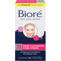 Biore Deep Cleansing Combo Pack Pore Strips