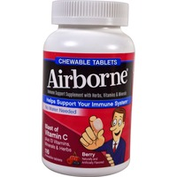 Airborne Chewable Citrus Flavor Immune Supplements