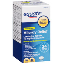 Equate Allergy Relief Loratadine Tablets