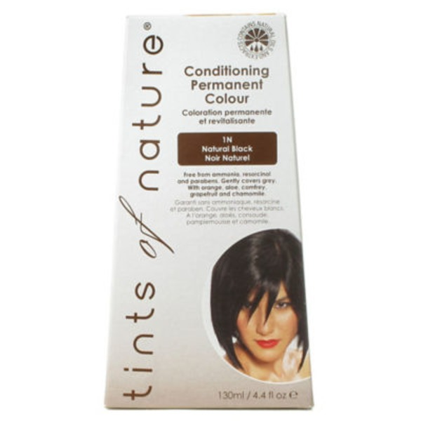 Tints Of Nature Conditioning Permanent Hair Color 120 M Natural Black 1N