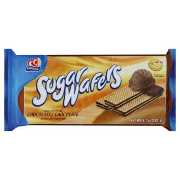Gamesa Chocolate Sugar Wafers