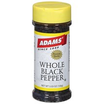 Adams Whole Black Pepper Spice