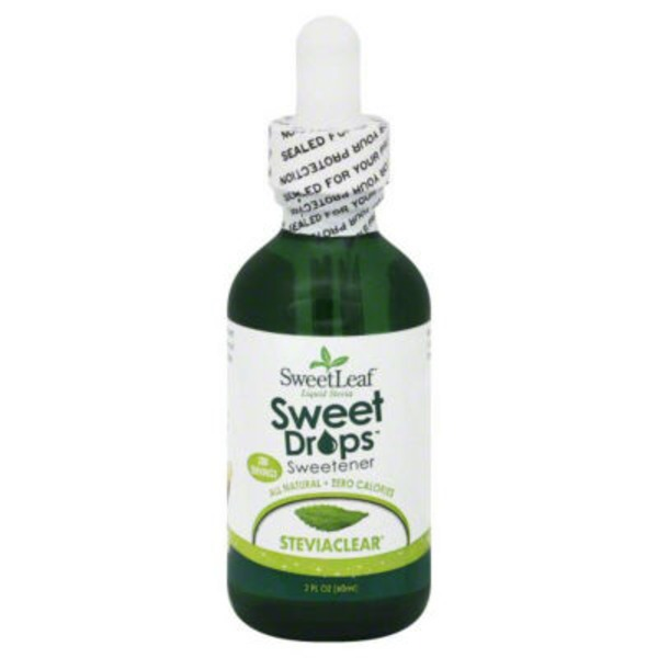 Sweet Leaf Tea Co SweetLeaf Sweet Drops Sweetener Stevia Clear