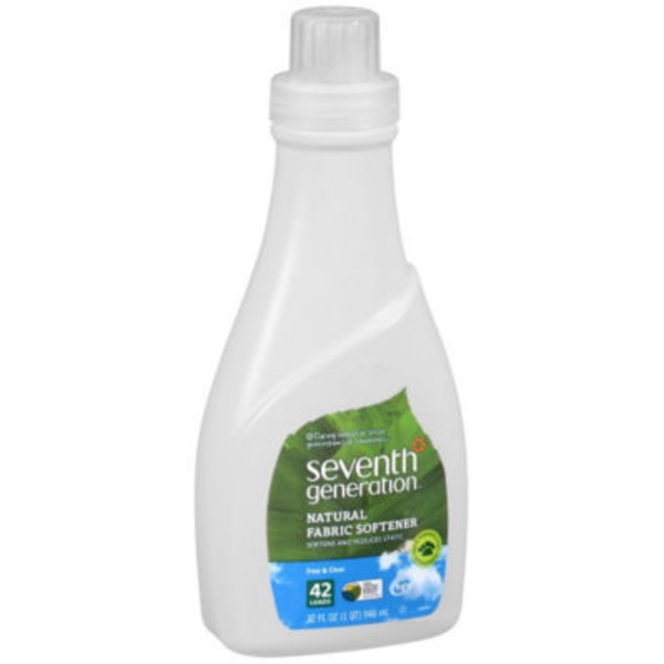 Seventh Generation Natural Free & Clear 42 Loads Liquid Fabric Softener