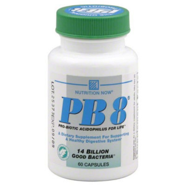 Nutrition Now PB 8 Pro-Biotic Vegetarian Formula Dietary Supplement