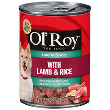 Ol Roy Hearty Cuts In Gravy w/Lamb & Rice Dog Food