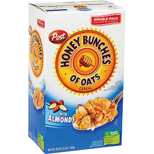 Honey Bunches Of Oats with Crispy Almonds Cereal