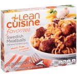 Lean Cuisine Simple Favorites Swedish Meatballs