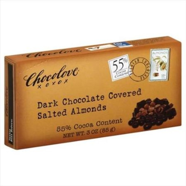 Chocolove Dark Chocolate Covered Salted Almonds