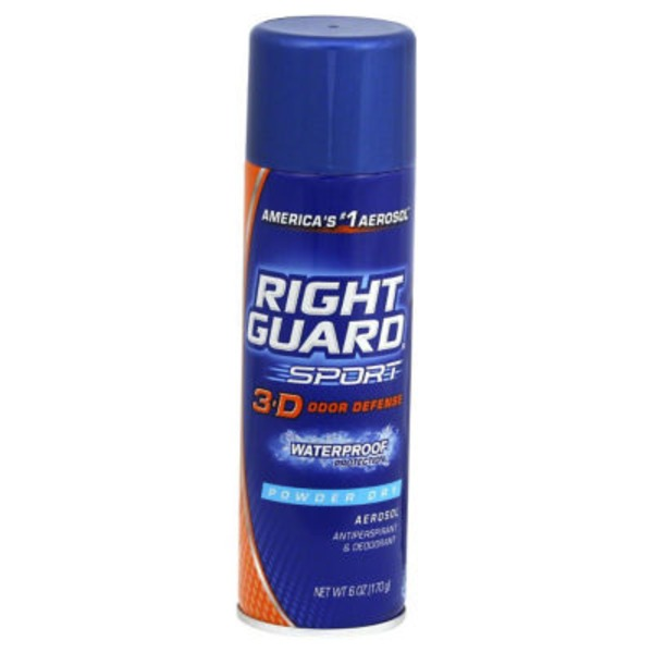 Right Guard Sport Powder Dry Antiperspirant