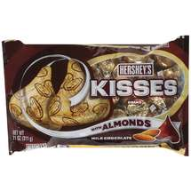 Hersheys Milk Chocolate Candies Kisses w/Almonds