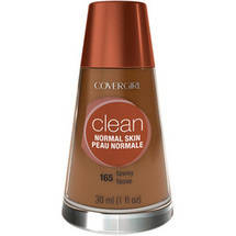 CoverGirl Clean Liquid Make Up Foundation TAWNY 165
