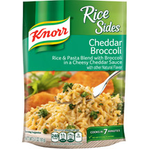Knorr Rice Sides Cheddar Broccoli Rice Side Dish