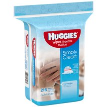 HUGGIES Simply Clean Wipes Refill