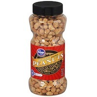 Kroger Peanuts Dry Roasted Salted