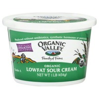 Organic Valley Lowfat Sour Cream