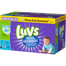 Luvs Diapers Size 2