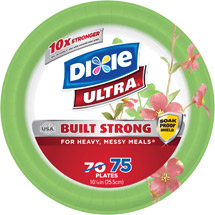 Dixie Ultra Paper Plates