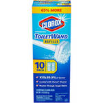 Clorox Disinfecting Disposable Cleaning Heads Toilet Wand Refills