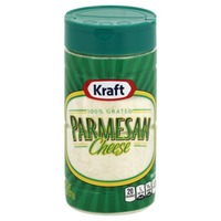 Kraft Grated Cheese 100% Grated Parmesan Cheese