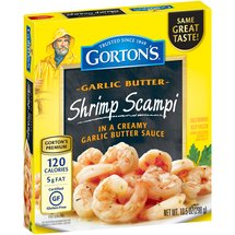 Gorton's Garlic Butter Shrimp Scampi
