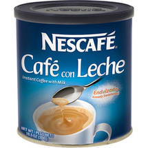Nescafe Coffee With Milk (Cafe Con Leche) Flavored Coffee Mix