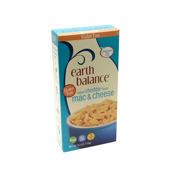 Earth Balance Gluten Free Vegan Cheddar Mac And Cheese
