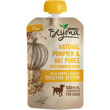 Purina Beyond Natural Meal Enhancement Mix for Dogs Pumpkin and Oatmeal Puree