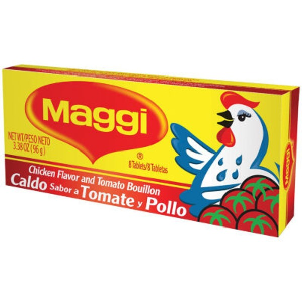 Maggi Chicken Flavor & Tomato Bouillon Tablets