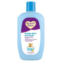 Parent's Choice Baby Bubble Bath and Wash