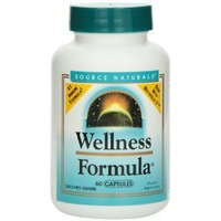 Source Naturals Wellness Formula Daily Immune Support Dietary Supplement Capsules