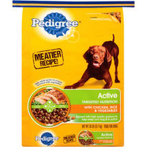 Pedigree Active Nutrition Dog Food