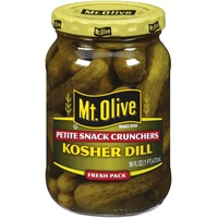 Mt. Olive Kosher Dill Petite Snack Crunchers Fresh Pack Pickles