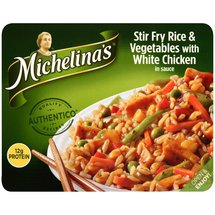 Michelina's Stir Fry Rice & Vegetables with White Chicken