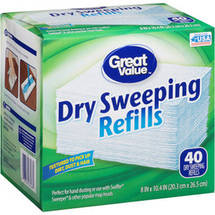Great Value Dry Sweeping Refills