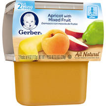 Gerber 2nd Foods Apricot with Mixed Fruit Baby Food
